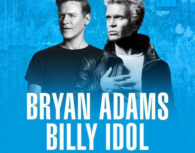 Bryan Adams & Billy Idol at Darien Lake