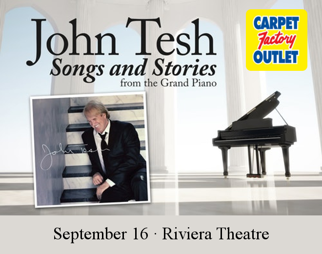 See John Tesh at the Riviera Theatre