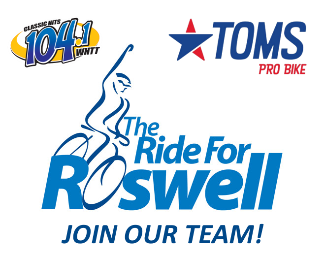 Join our Ride For Roswell Team!