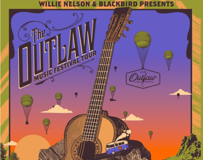 See Willie Nelson at The Outlaw Music Festival