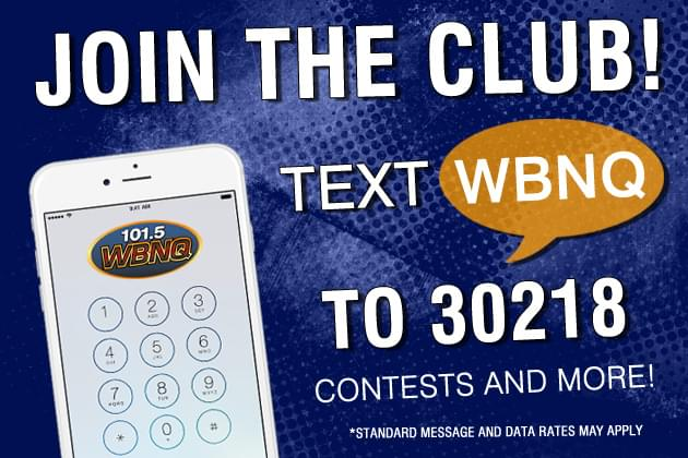 Join The WBNQ Text Club!