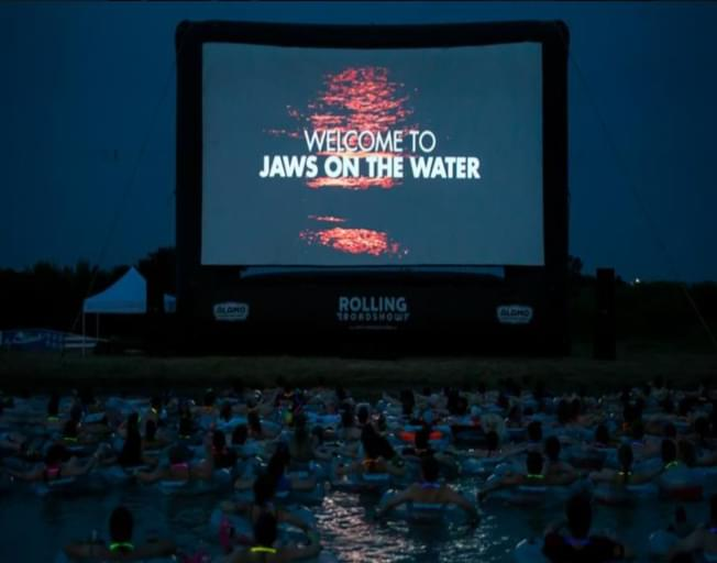 You Can Watch JAWS While Floating In Water