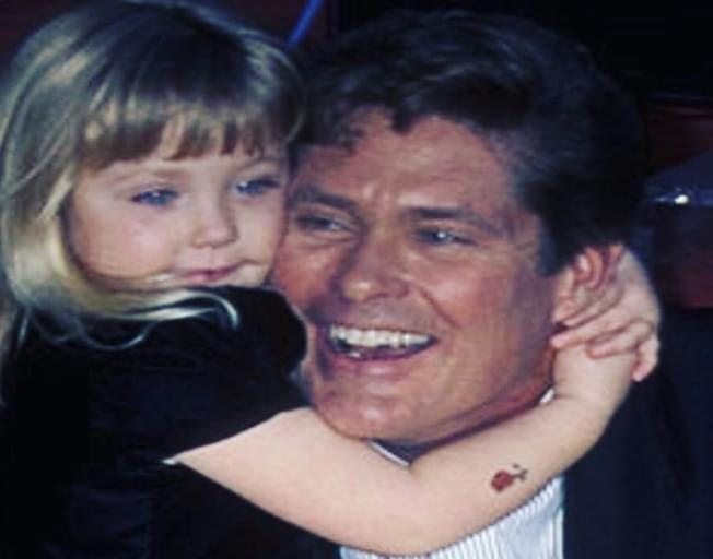 David Hasselhoff's Daughter Has Grown Up & Is A Plus-Size Lingerie Model