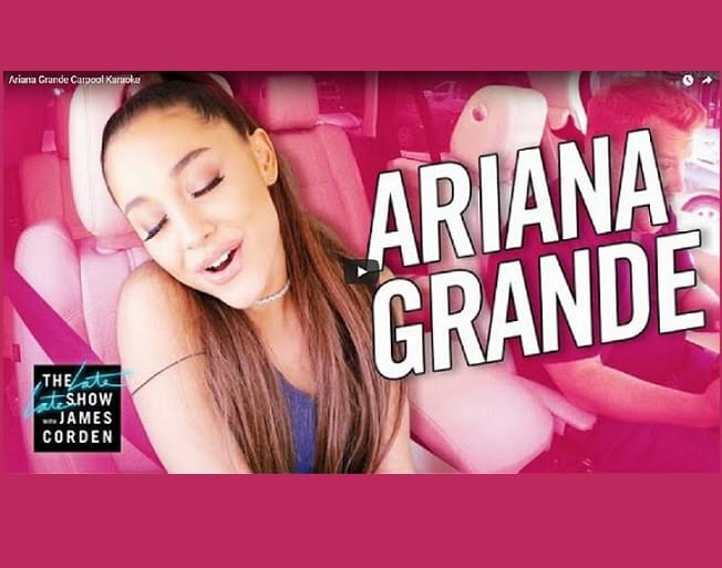 Ariana Grande Shines In This Edition Of Carpool Karaoke With James Corden [VIDEO]