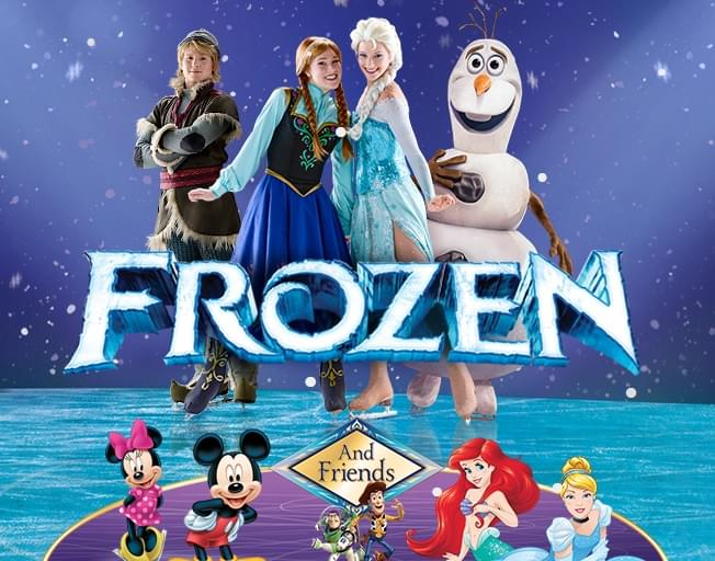 Win FROZEN Disney's On Ice Tickets On THE SUSAN SHOW