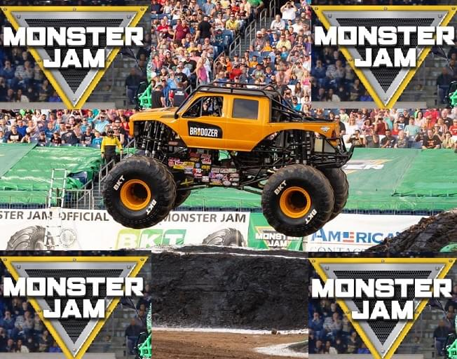 Win Monster Jam Tickets From THE SUSAN SHOW
