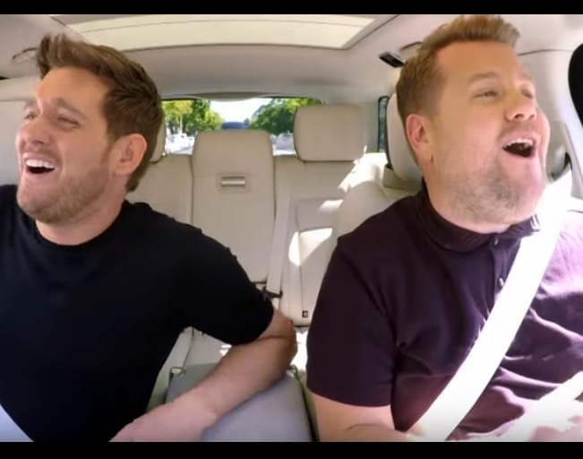 Micheal Buble Gets Real About Son's Cancer During Carpool Karaoke [VIDEO]