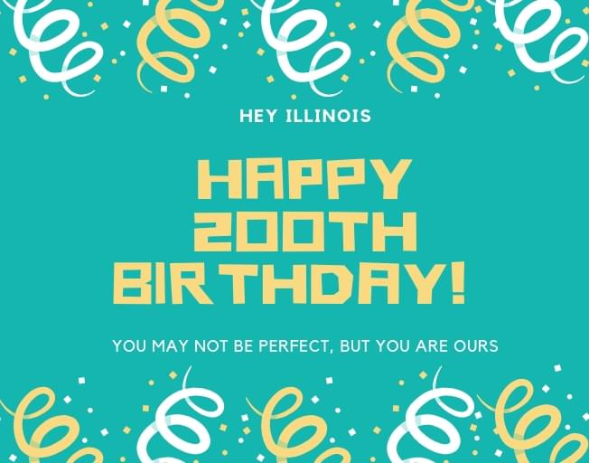 Illinois Birthday Bicentennial Includes Top 200 Results For State Favorites