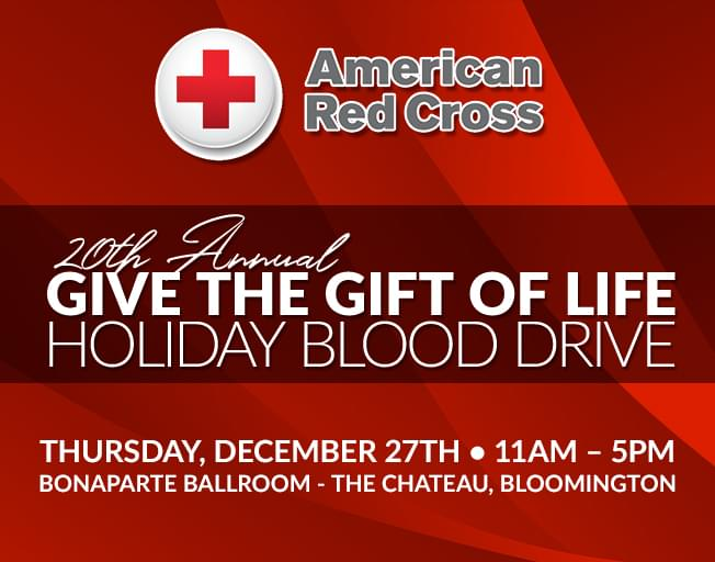 20th Annual Give the Gift of Life Blood Drive