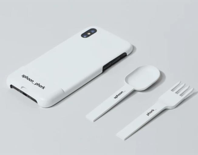 New Invention Allows You To Turn Your Smartphone Into A Spoon Or Fork