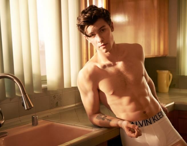 See Shawn Mendes In His New Calvin Klein Ad