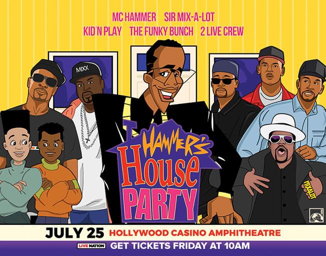 "Win Tickets To ""Hammer's House Party"" On The Throwback Boombox"