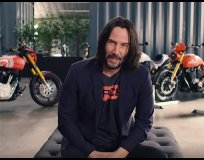 Keanu Reeves Show Us His Motorcycle Collection And Company