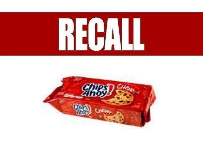 Chewy Chips Ahoy! Cookies Recalled Over 'Unexpected' Ingredient