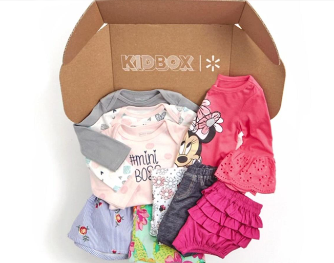 Walmart Teams With Kidbox for Kid's Clothing Service