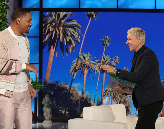 "Will Smith Gets Jiggy on ""Ellen"""