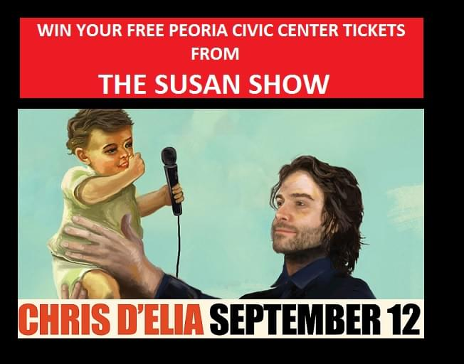 Win Chris D'Elia Tickets On THE SUSAN SHOW