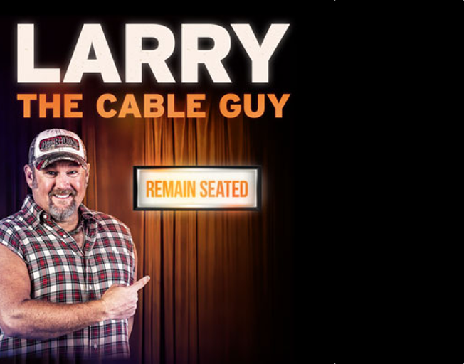 Win Tickets With Cody West To See Larry The Cable Guy