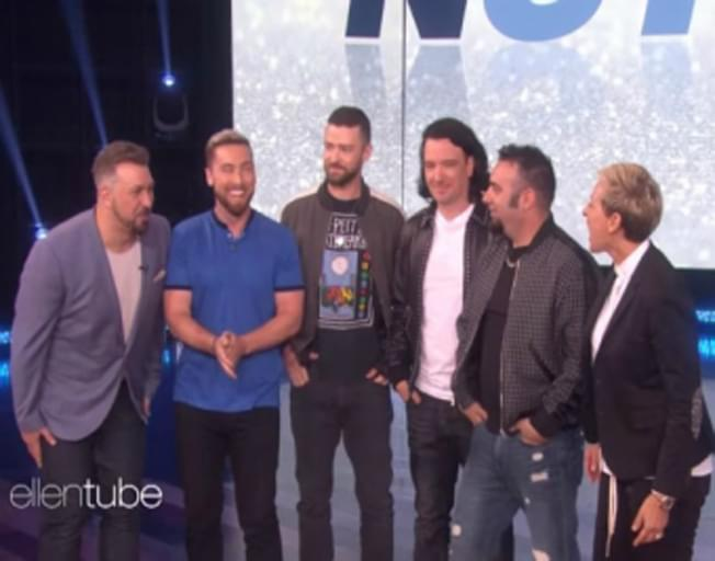 NSYNC Is Talking About Reunion And WE ARE FREAKING OUT