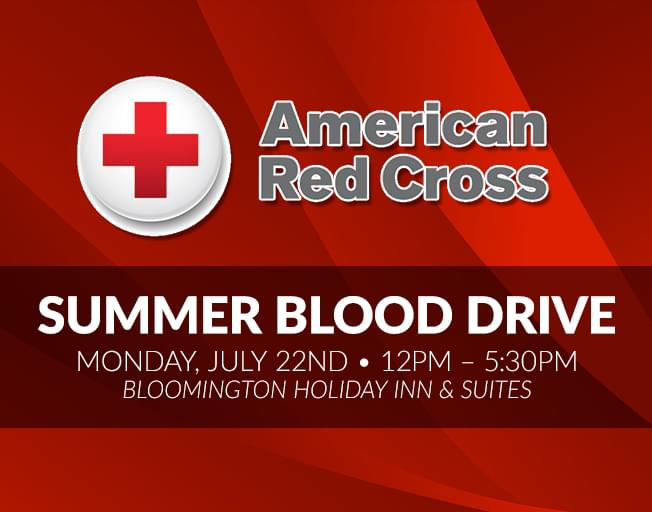 16th Annual Red Cross Summer Blood Drive