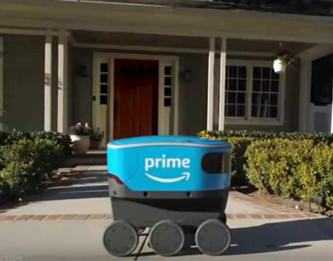 Amazon Robots Will Soon Deliver To You