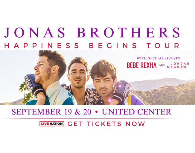 Win Tickets To See Jonas Brothers In Chicago