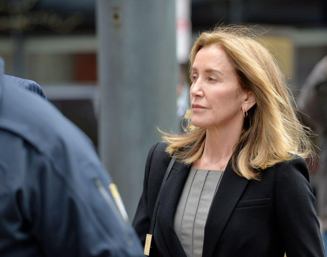 Felicity Huffman Sentenced To 14 Days In Jail For College Admissions Scandal