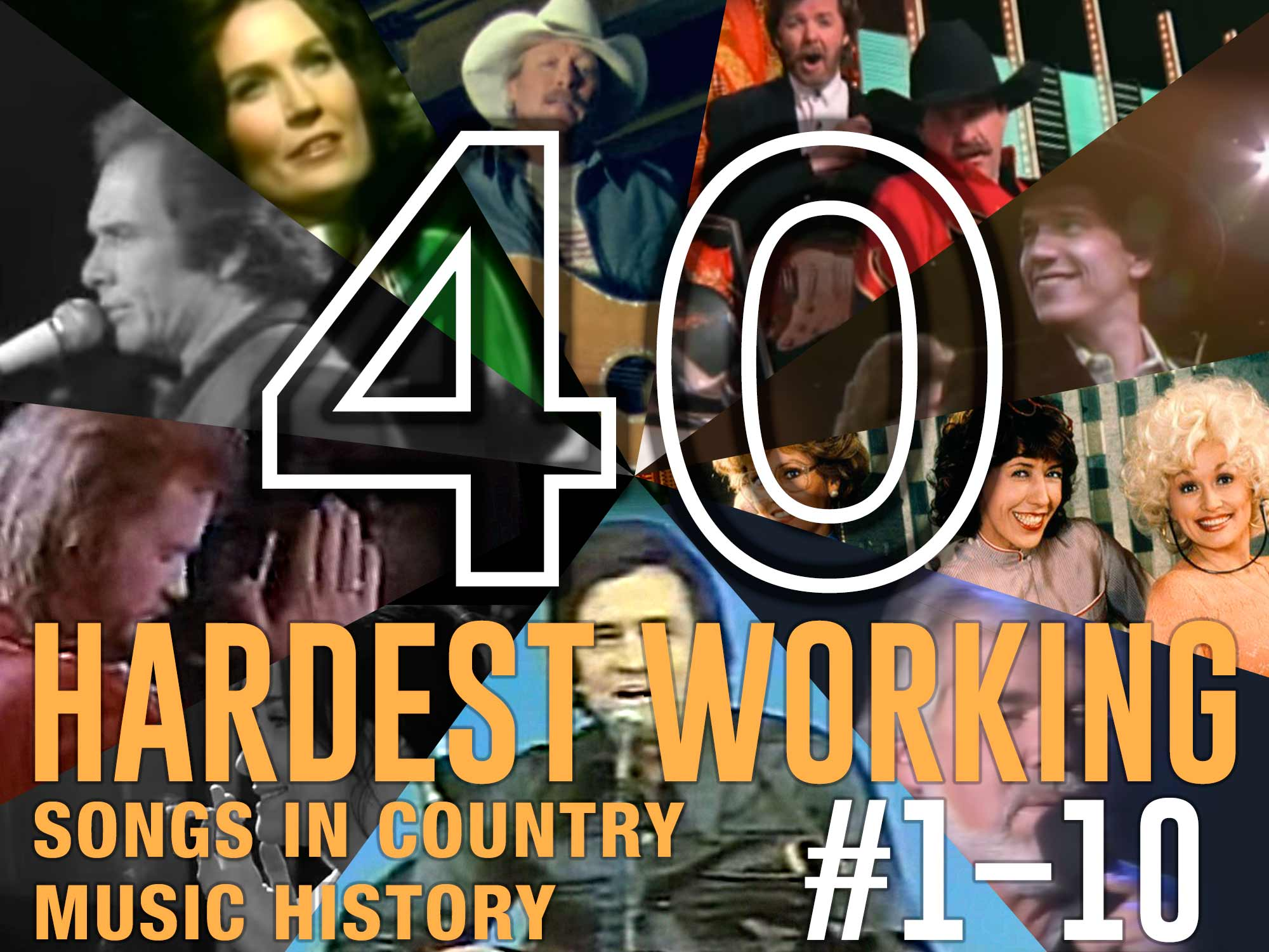 In Honor of Labor Day, the 40 Hardest Working Songs in Country Music History: #1–10