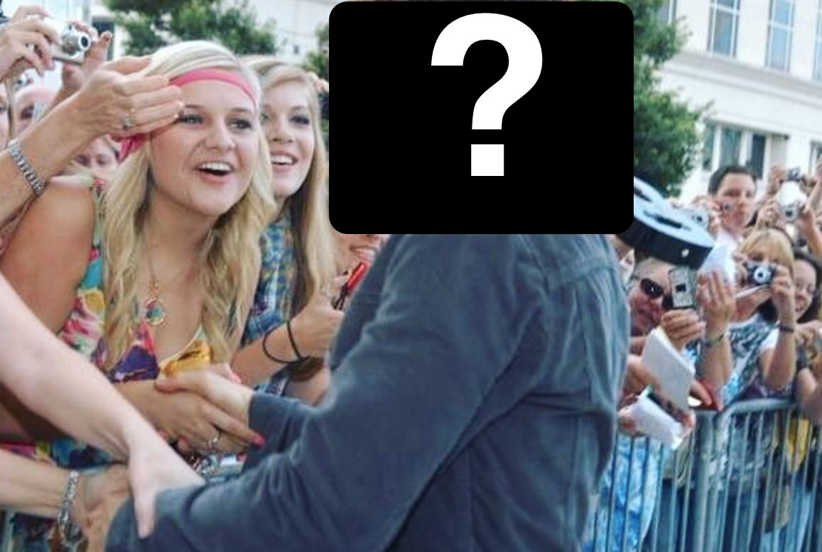 Kelsea B 14 with Keith Question Mark 2018