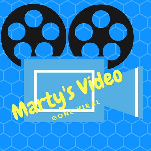 Marty's Video Gone Viral Logo