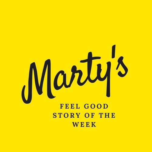 Marty's Feel Good Logo