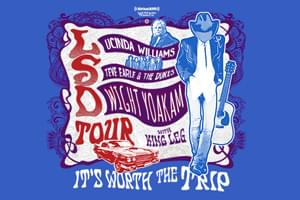 LSD Tour with Dwight Yoakam – August 12th!