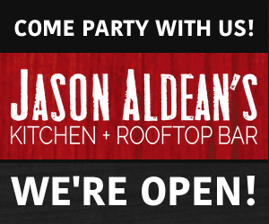 Jason Aldean's Kitchen + Rooftop Bar – VIP Grand Opening!