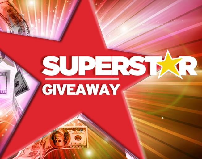 It's the Superstar Giveaway!