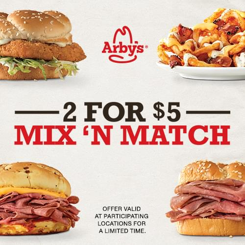 Lunch from Arby's!