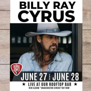 Billy Ray Cyrus at The George Jones!