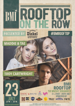 BMI Rooftop on the Row – July