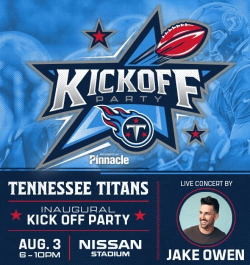 Tennessee Titans Kickoff Party!