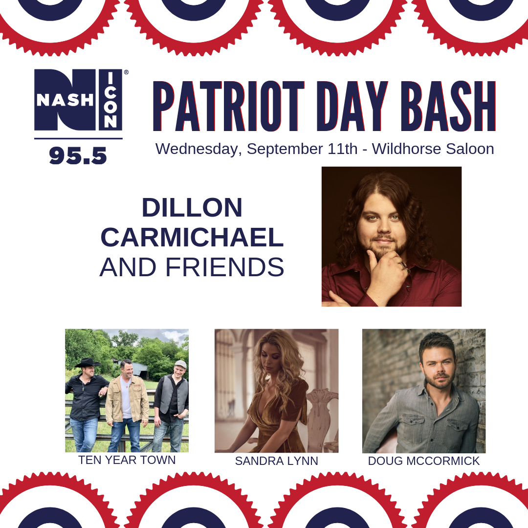 Patriot Day Bash with Dillon Carmichael
