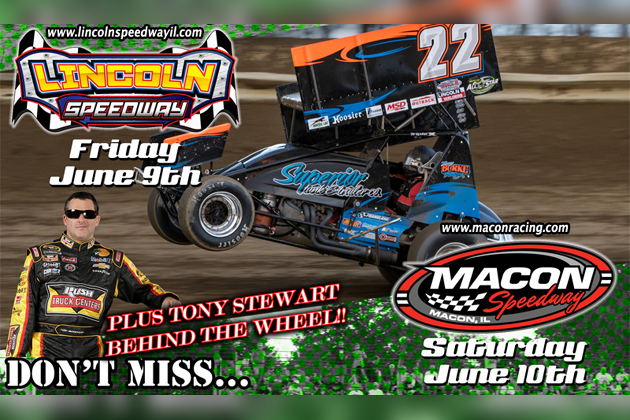 All Star Sprints >> Tony Stewart At Lincoln Speedway And Macon Speedway This