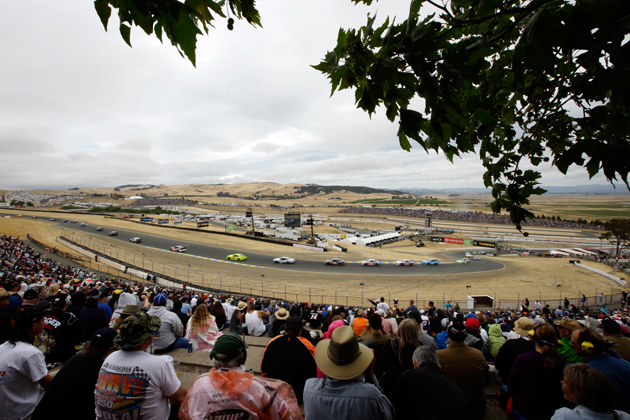 NASCAR Hitting the Road … Course of Sonoma