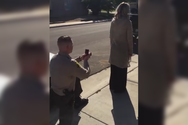 She was pulled over for DUI, but she got a RING! [VIDEO]