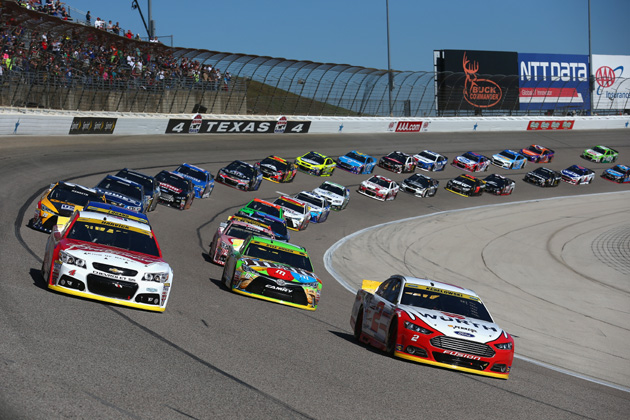 Which nascar driver can two step to a win at texas motor for Nascar texas motor speedway 2017