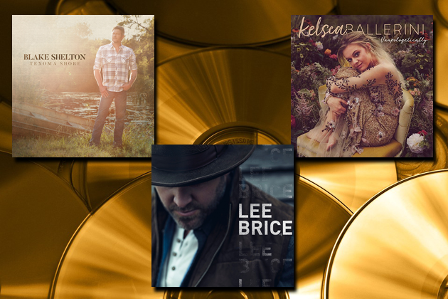 Blake, Kelsea and Lee Drop New Albums Today
