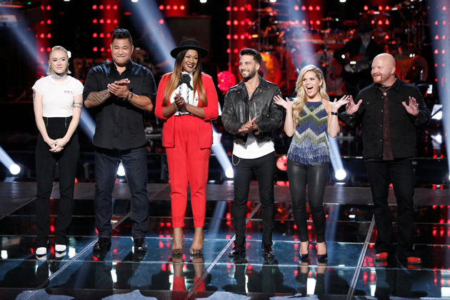 Which 3 Artists Did Blake Shelton keep on Team Blake on 'The