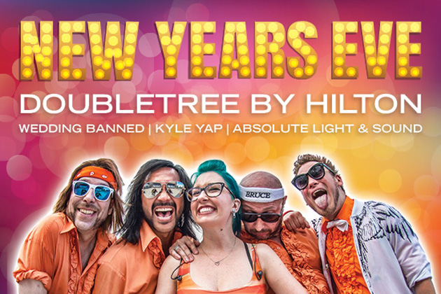 NYE at the Doubletree By Hilton With B104