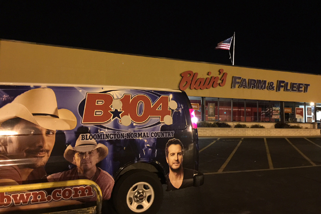 Join B104 at Blain's Farm & Fleet Black Friday