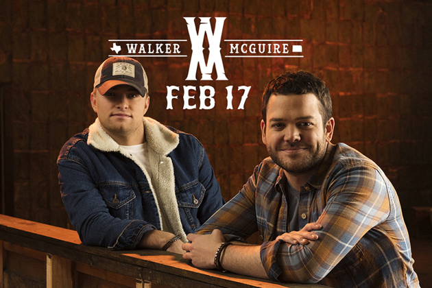 Win Dinner and a Show with Walker McGuire Tickets