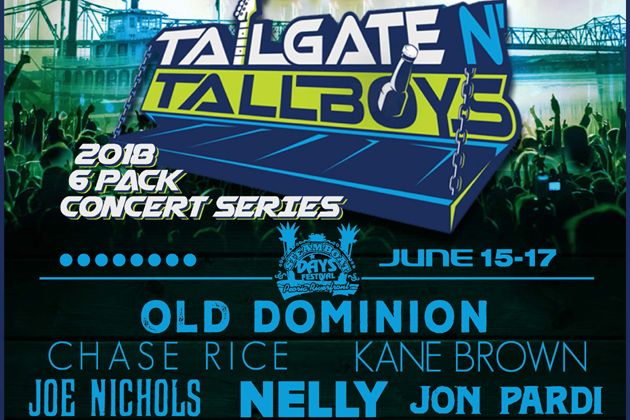 Win 3 Day Passes To Tailgate N Tallboys With Faith & Hunter
