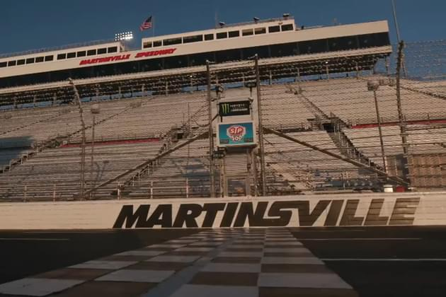 In-Car Audio from NASCAR's STP 500 at Martinsville